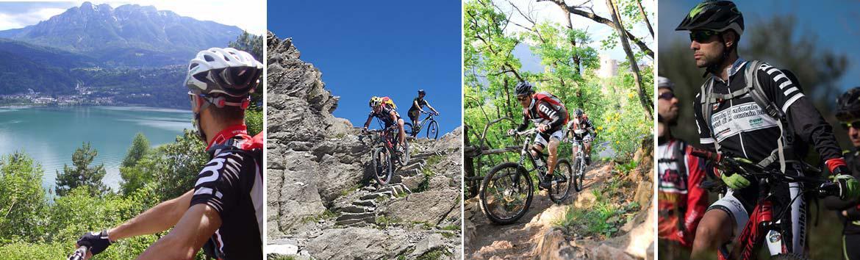 AMIBIKE Su ogni tipo di percorso e terreno,  il controllo della Mountain Bike sempre nelle tue mani